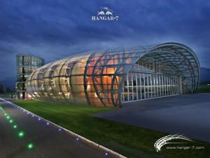 Hangar-7_Aussenansicht_Nacht